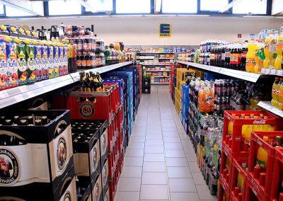 Getränkemarkt im EDEKA Fackler in Erkheim