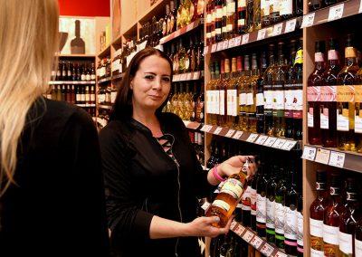 Weinberatung bei EDEKA