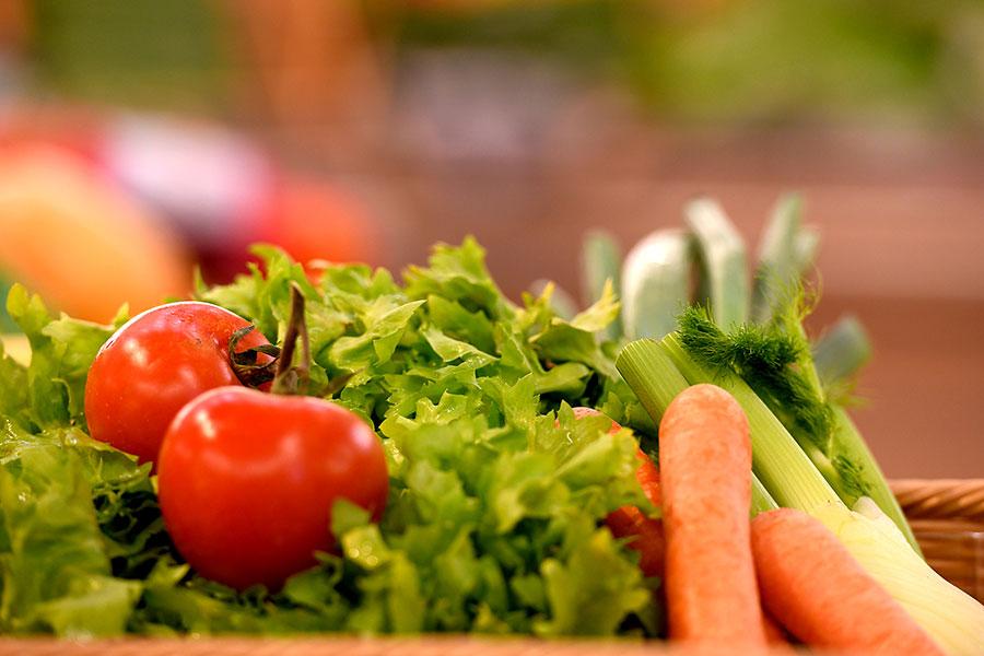 Gemüse bei EDKEA in Rot