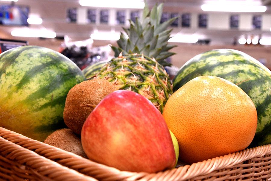 Frisches Obst in Sontheim