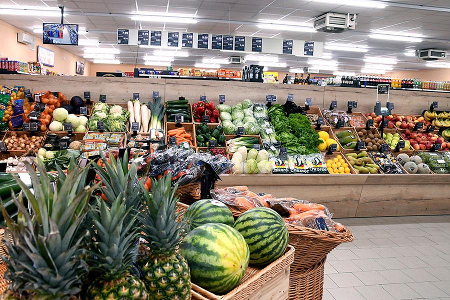 Obst und Gemüse bei nah & gut Fackler
