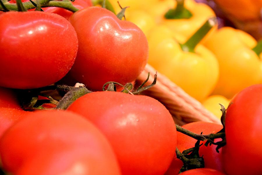 Obst und Gemüse bei EDEKA in Tannheim